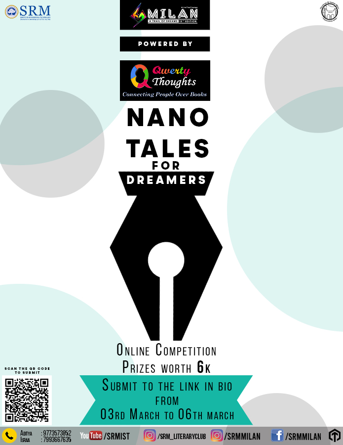 Nano Tale Writing Competition - Milan'20