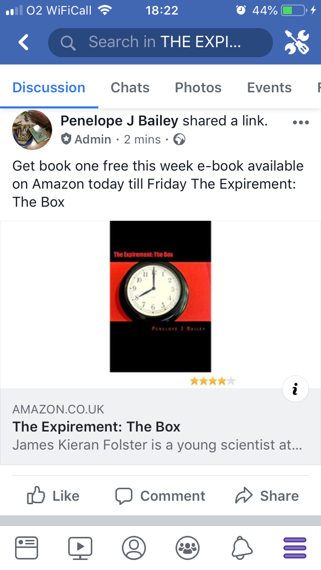 The Expirement the box